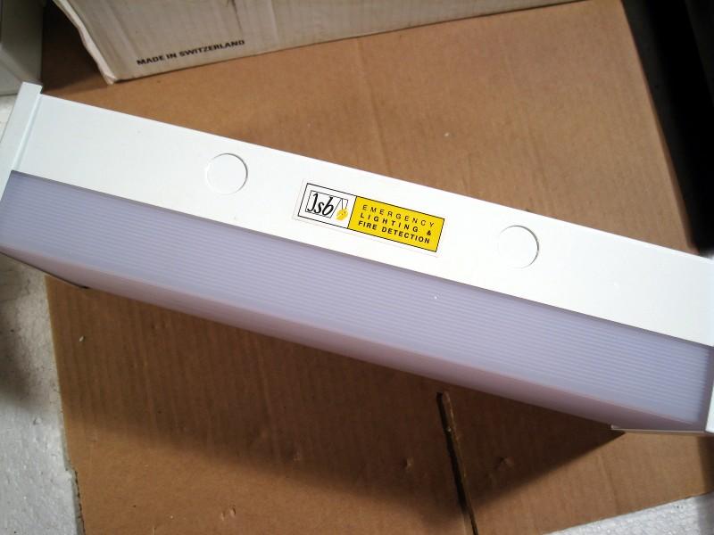 jsb versacux vx8 3 self contained 3hr emergency light. Black Bedroom Furniture Sets. Home Design Ideas