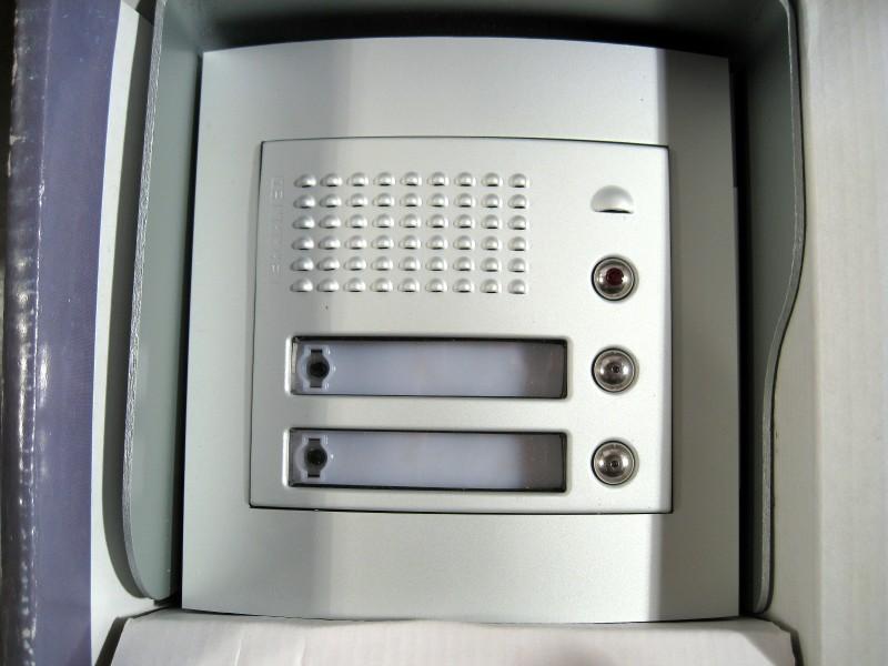 legrand terraneo sfera door entry intercom kit 2 phone. Black Bedroom Furniture Sets. Home Design Ideas